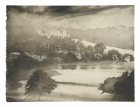 Harewood in Autumn by Norman Ackroyd CBE, RA, ARCA, RE, MA